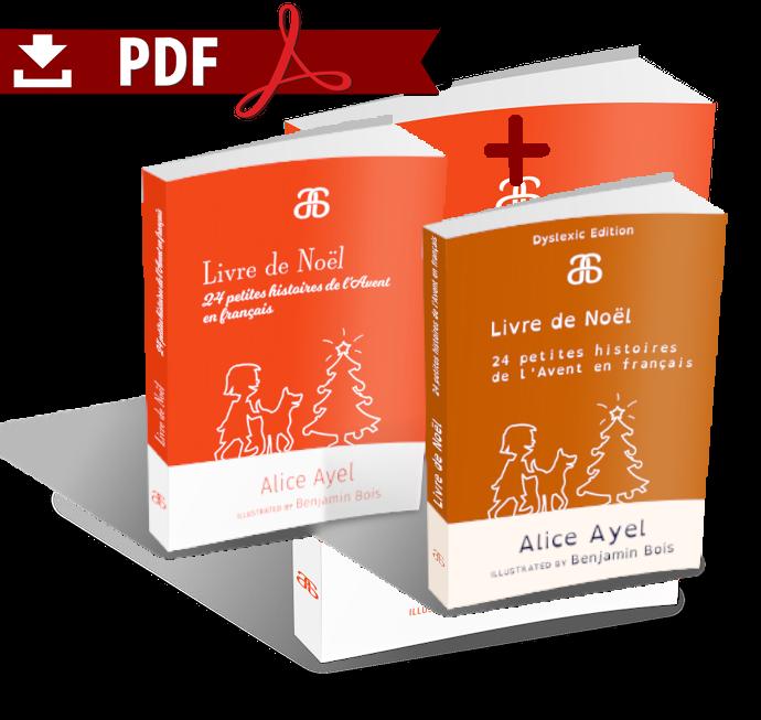Livre de Noël – Pack Standard + Dyslexic Editions