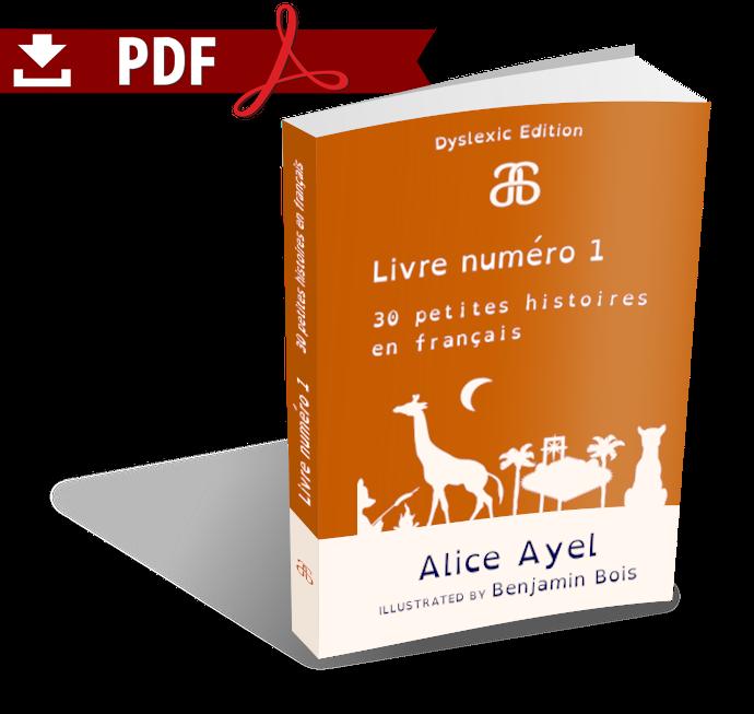 Livre numéro 1 - 30 petites histoires en français