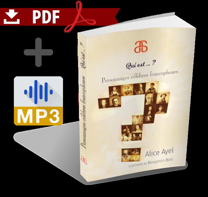 Qui est … ? Personnages célèbres francophones & MP3 audiobook